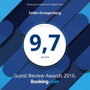 Booking.com Award 2016