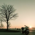 Motorrad - Landschaft - FeWo-Orsoyerberg